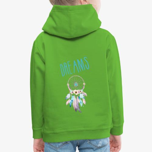 Dreams - Felpa con cappuccio Premium per bambini
