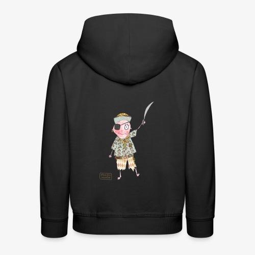enfant pirate - Pull à capuche Premium Enfant