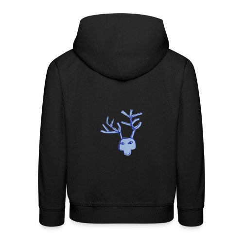 Jelen - Bluza dziecięca z kapturem Premium