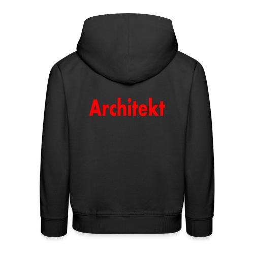 architekt - Kinder Premium Hoodie
