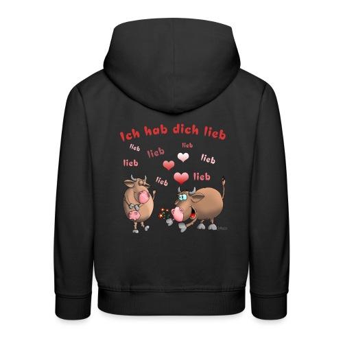 Liebe - Heiratsantrag - Kinder Premium Hoodie