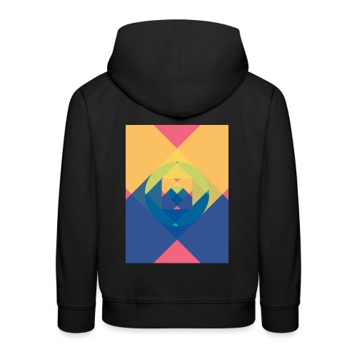 square and shadow - Kinder Premium Hoodie