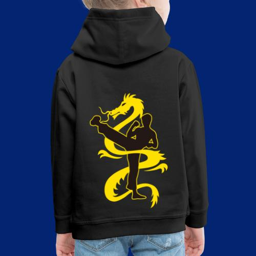 SHADOW OF THE DRAGON - Kids' Premium Hoodie