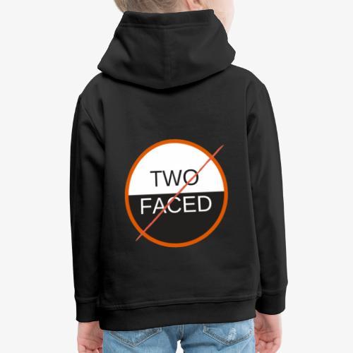 TWO FACED - Premium-Luvtröja barn