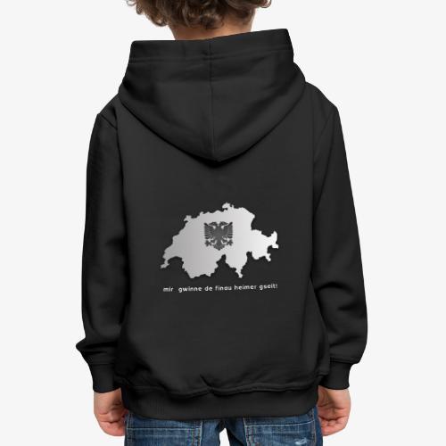 Schweiz & Albanien WM Shirt - Kinder Premium Hoodie