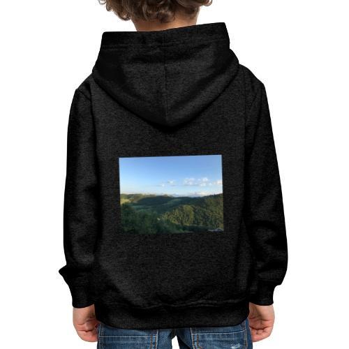 paesaggio - Felpa con cappuccio Premium per bambini