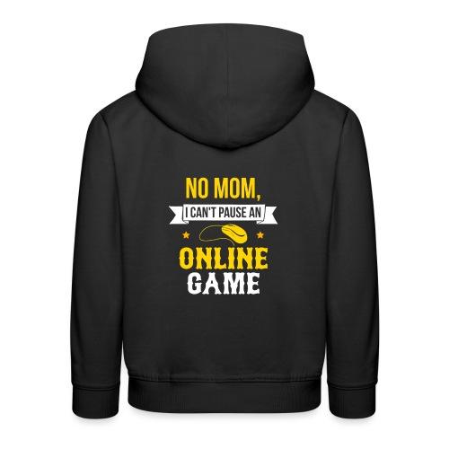 mmo online game spiel zocker shooter geschenk - Kinder Premium Hoodie