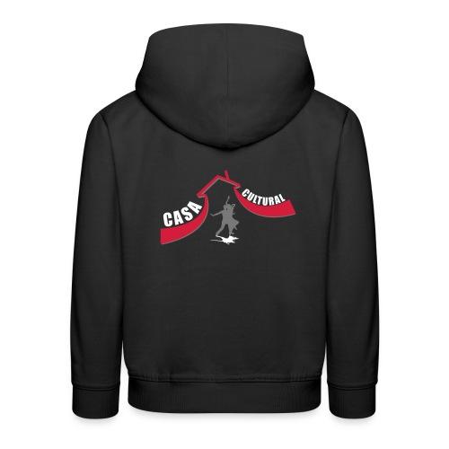 logo ccb paar grau - Kinder Premium Hoodie