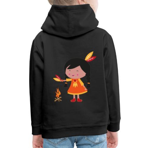 Happy Meitlis - Amerika - Kinder Premium Hoodie