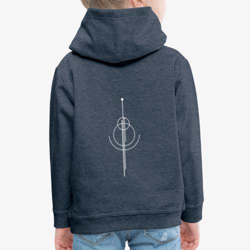 Geometrisches Design - Kinder Premium Hoodie