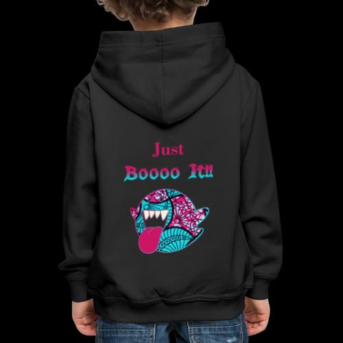 Just Boooo It : Pink Power !!! - Pull à capuche Premium Enfant