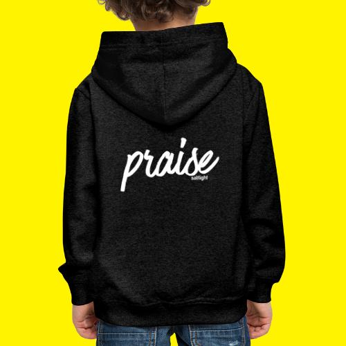 Praise (WHITE) - Kids' Premium Hoodie