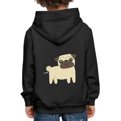 VHP Dog Pooper - Premium hættetrøje til børn