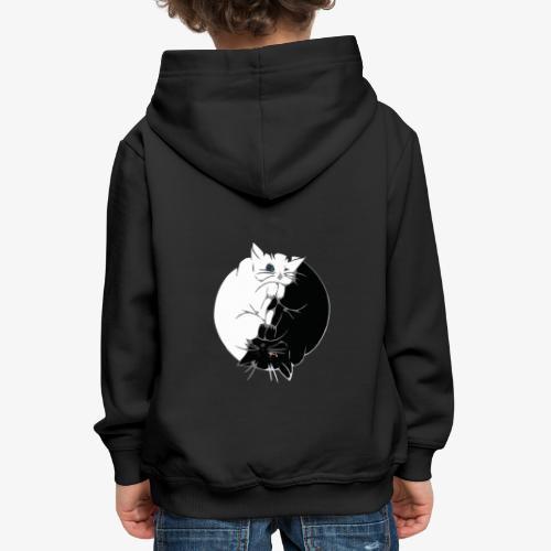 Yin and Yang - Pull à capuche Premium Enfant