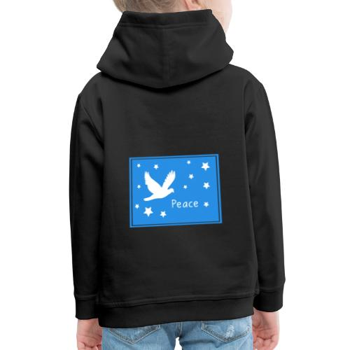 Peace for All - Kids' Premium Hoodie