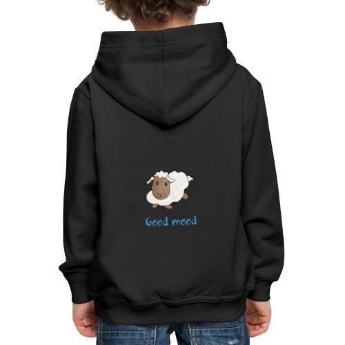 Nadège le petit mouton blanc - Pull à capuche Premium Enfant