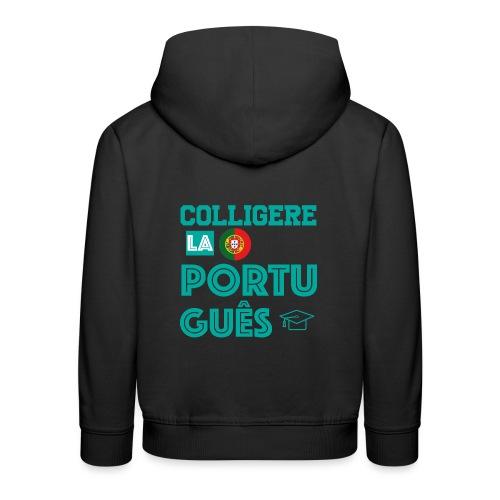 Colligere LA Português - Premium Barne-hettegenser