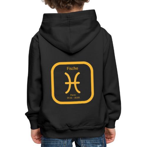 Horoskop Fische12 - Kinder Premium Hoodie