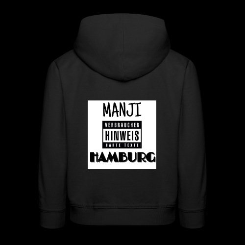 MANJI HAMBURG - Kinder Premium Hoodie