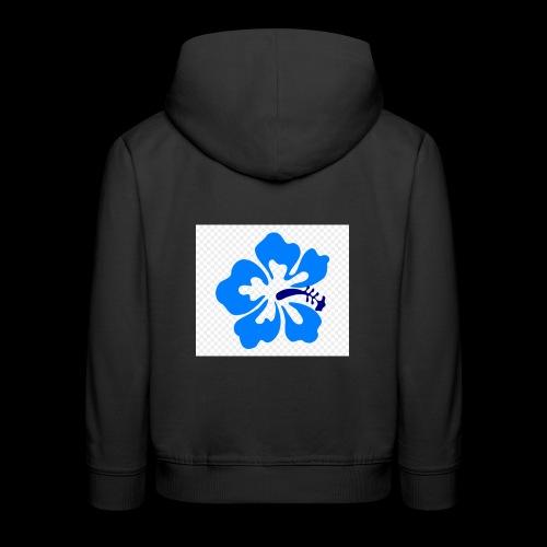 hawaiian flower - Kids' Premium Hoodie