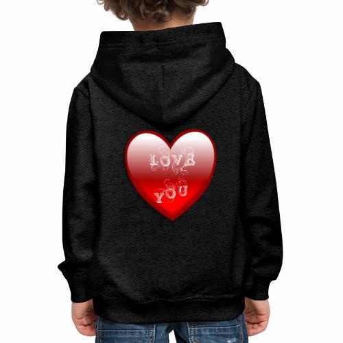 Love You - Kinder Premium Hoodie