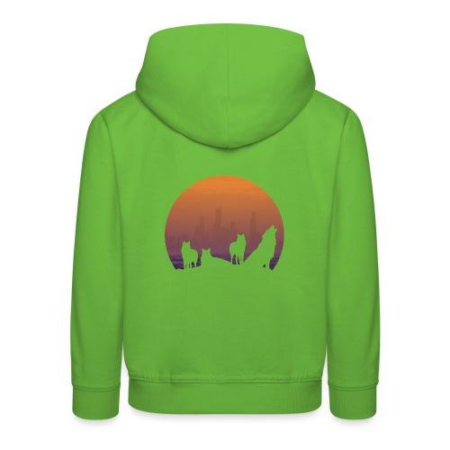 Wolfsrudel - Kinder Premium Hoodie