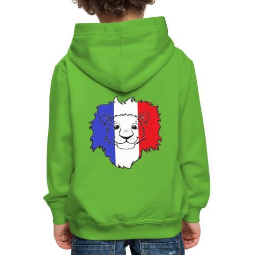 Lion France - Pull à capuche Premium Enfant
