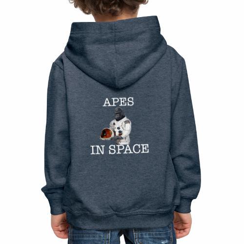 Apes in Space - Kids' Premium Hoodie
