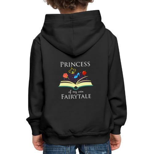 Princess Of My Own Fairytale - White - Kids' Premium Hoodie