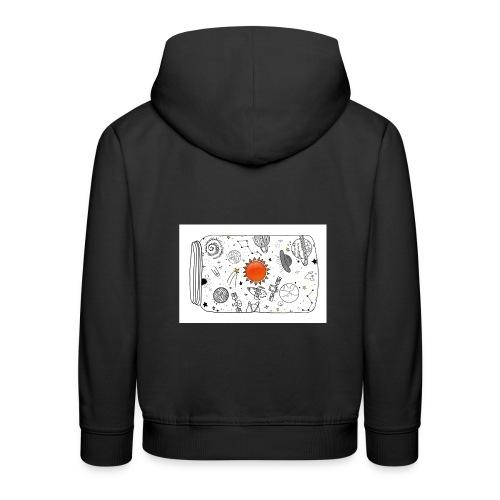 cosmos - Kinder Premium Hoodie