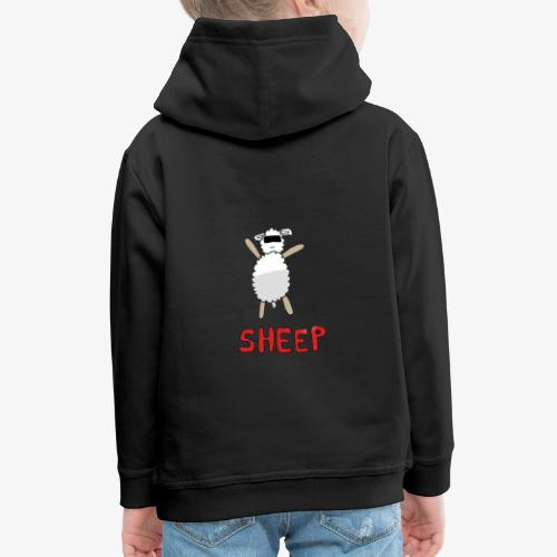 Happy - Sheep - Pull à capuche Premium Enfant