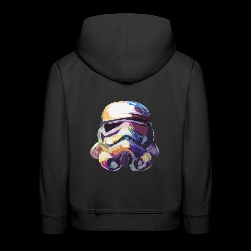 Stormtrooper with Hope - Kids' Premium Hoodie