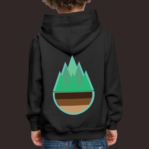Wald | Natur Baum Erde Bäume - Kinder Premium Hoodie