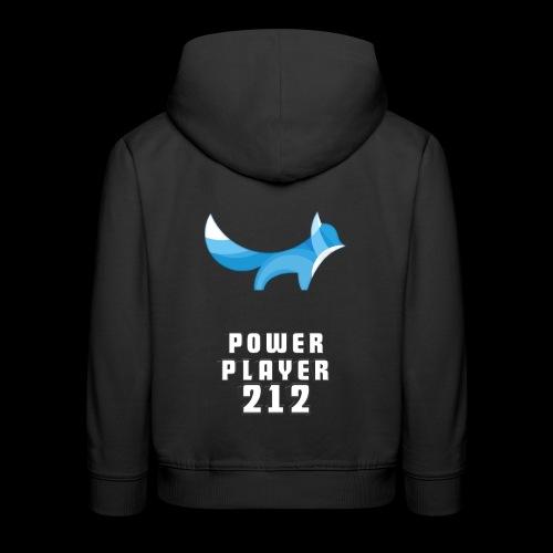 POWERPLAYER212's Shirt - Felpa con cappuccio Premium per bambini