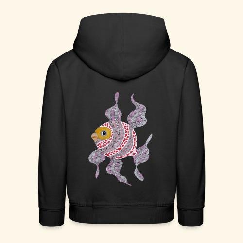 Clown fish - Felpa con cappuccio Premium per bambini