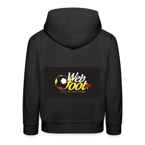 webfoot.be - Pull à capuche Premium Enfant