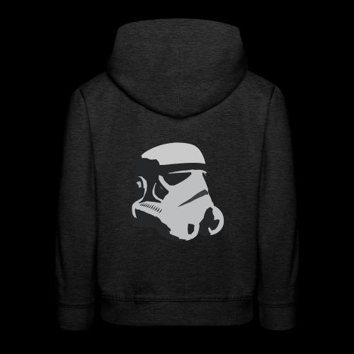 Stormtrooper Helmet - Kids' Premium Hoodie