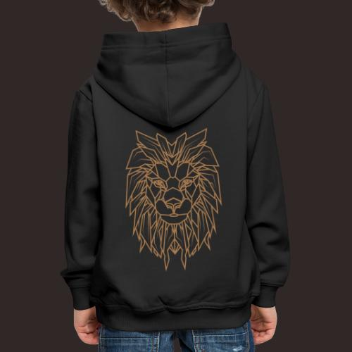 Löwe | Tier Katze Raubkatze Wildtier - Kinder Premium Hoodie
