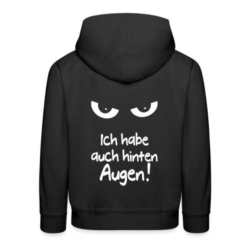 Böser Blick Augen Schlechte Laune Sprüche Geschenk - Kinder Premium Hoodie