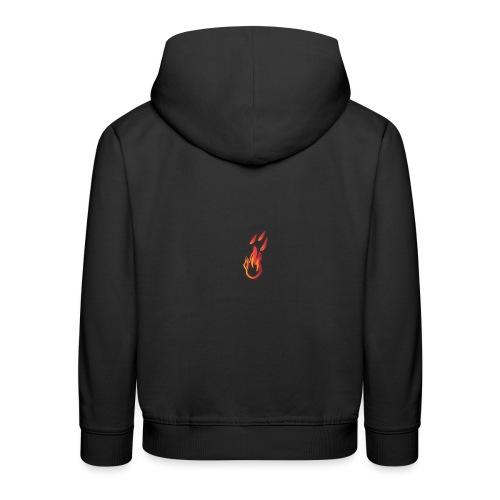 fiamma - Felpa con cappuccio Premium per bambini