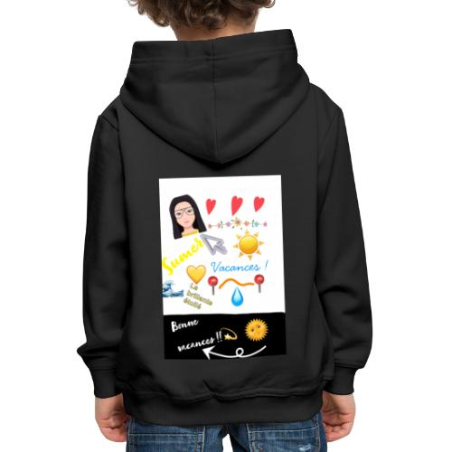 COLLECTION BONNE VACANCES!!🔆❣️ - Pull à capuche Premium Enfant