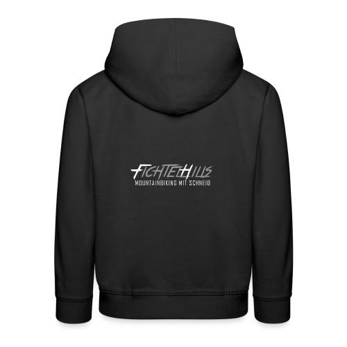 fichtelhills mtb mit schneid black - Kinder Premium Hoodie