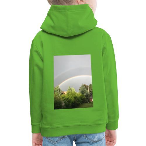 Arcobaleno - Felpa con cappuccio Premium per bambini
