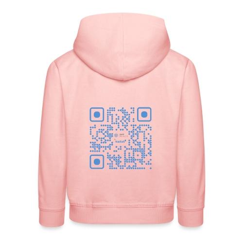 QR Maidsafe.net - Kids' Premium Hoodie