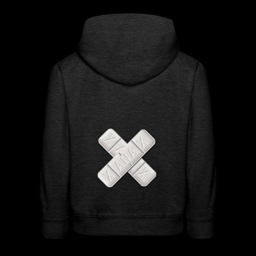 Xanax X Logo - Kinder Premium Hoodie