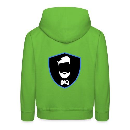 Kalzifertv-logo - Premium hættetrøje til børn