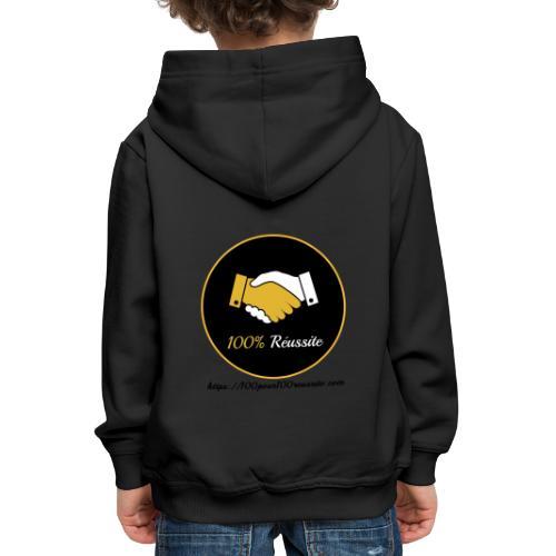 Boutique 100% Réussite - Pull à capuche Premium Enfant
