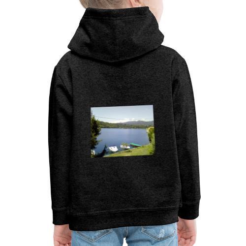 Lago - Felpa con cappuccio Premium per bambini