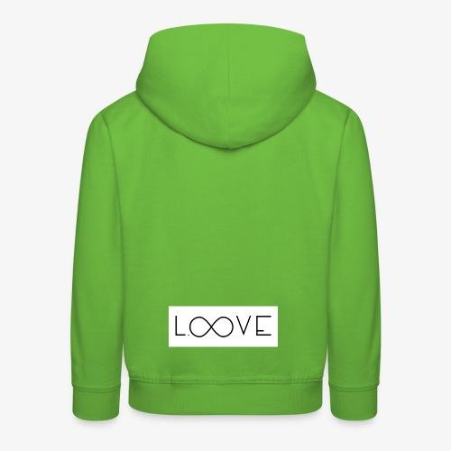 LOOVE Box Logo (SS18) - Felpa con cappuccio Premium per bambini
