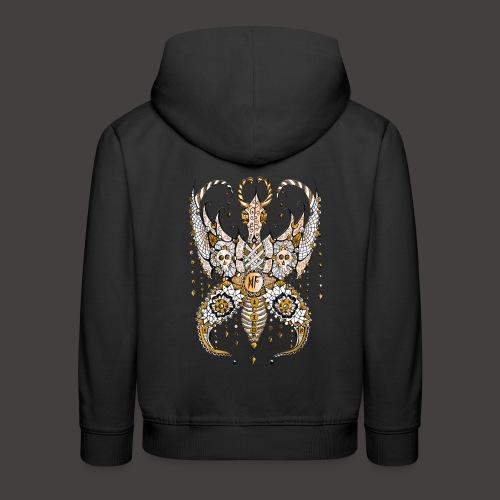 Papillon Lilou Dore - Pull à capuche Premium Enfant